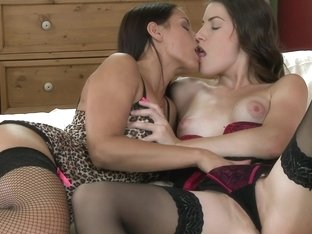 Exclusive Lesbian Erotica: joined in harmony