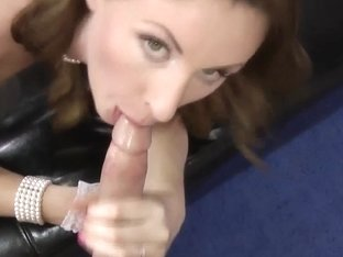 Cum mouth older brit bang