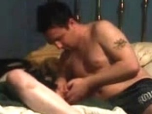 Homemade sex tape of a horny couple having a passionate sex