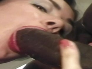 Amateur British housewife tries interracial anal and dp