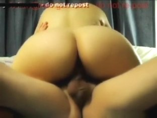 Fuckbuddy gets creampied in cowgirl position