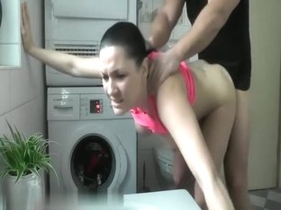 Delicious non-professional girlfriend with large bumpers getting screwed