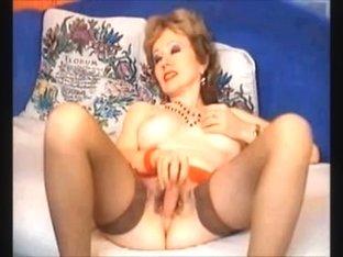 older woman masturbating