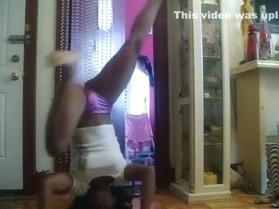 Astonishing wazoo popping livecam panty video