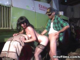 Fabulous pornstar in Crazy Brunette, European xxx clip