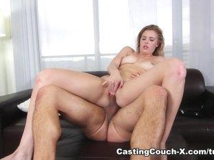 Incredible pornstar in Crazy College, Blonde adult clip