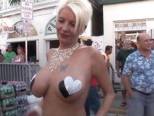 Best pornstar in crazy striptease, blonde adult scene