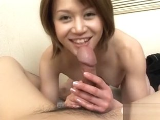 Best Japanese model in Incredible Uncensored, Blowjob/Fera JAV movie