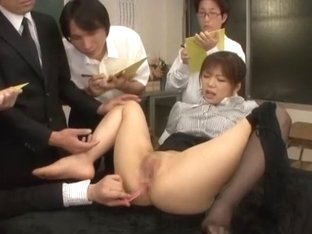 Exotic Japanese chick Yuri Mihana in Incredible Masturbation/Onanii, Cougar JAV scene