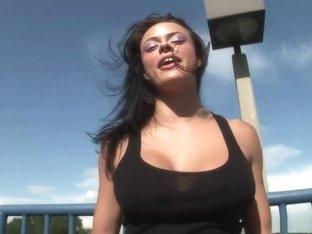 Incredible pornstar in exotic brazilian, striptease porn movie