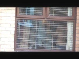 neighbour voyeured