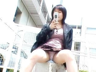 Hot Asian schoolgirls willingly share their great upskirts dvd DPM-005