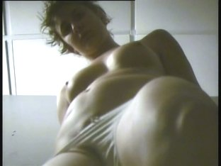 Dressing room spy camera shoots nude girl wearing lingerie