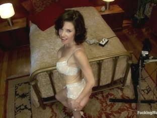 Horny fetish, milf xxx movie with fabulous pornstar Veronica Avluv from Fuckingmachines