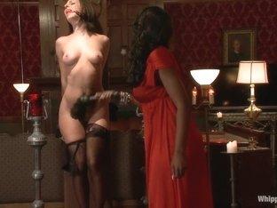 Horny fetish xxx video with crazy pornstars Jada Stevens and Nyomi Banxxx from Whippedass