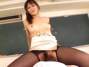 Amazing Japanese slut Natsumi Horiguchi in Horny Fingering, Stockings/Pansuto JAV scene