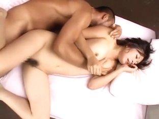 Horny Japanese model in Exotic JAV video