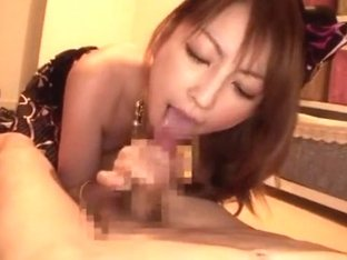 Exotic amateur Blowjob, Stockings adult scene