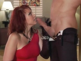 Busty widow Nicki Hunter needs some good sex