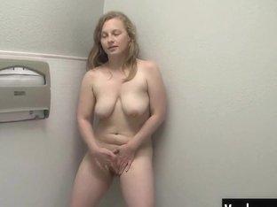 Busty Lili Masturbating Her Slit