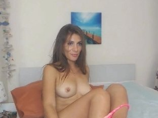 Sexy Slutty Babe Having a Masturbation Show