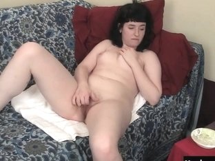 Horny Amateur Lola Fingering Her Pussy