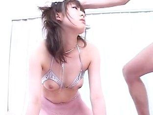 MMF jerking cock and fucking hard Sayaka