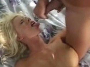 Lots of appealing young porn sluts get facual cumshots in cum shot compilation