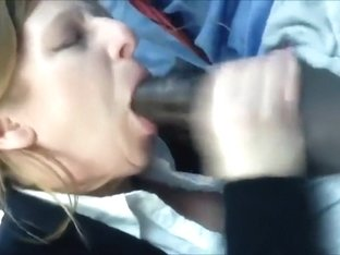 Aged business mother swallows her BBC co-worker in the car
