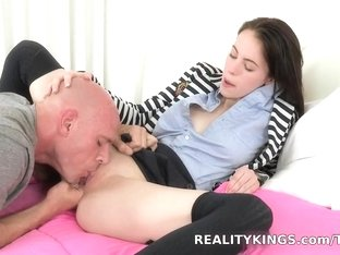 Exotic pornstar in Crazy Shaved, Stockings porn movie