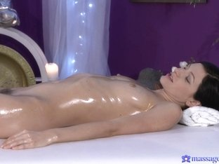 Hottest pornstars Greta A, George, Arian Joy in Fabulous Brunette, Small Tits porn video