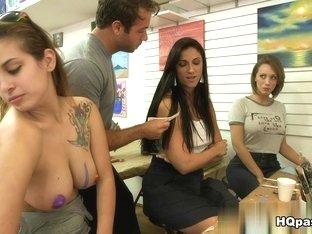 Incredible pornstar in Fabulous Threesomes, Couple xxx video