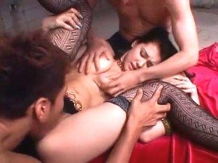Horny Japanese slut Maria Ozawa in Amazing Stockings/Pansuto, Fingering JAV movie