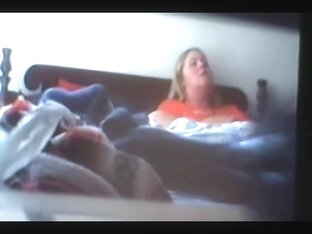 spycam caught blonde having orgasms.