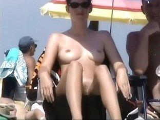 Very dark tanned but still sexy girl