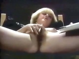 VINTAGE CURLY HAIRED BLONDE ANAL