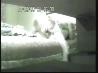 Hidden cam in mom bedroom