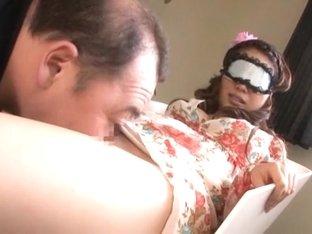 Crazy Japanese chick Kate Kurusu in Exotic Gangbang JAV clip