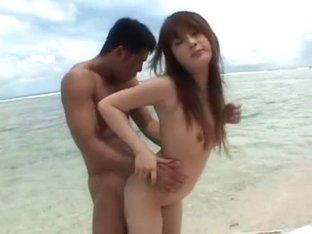 Hottest Japanese model MoMo in Horny Outdoor JAV scene