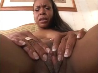 Hot black MOM riding white c...