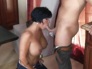 Cock-smitten MILF Shay Fox is slammed by Keiran Lee