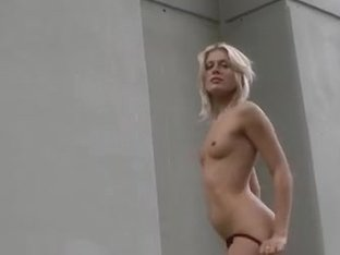 Wild public sex with lascivious golden-haired girl