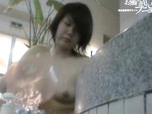 Asian girl is looking between her legs on spy camera dvd 03153