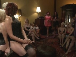 The most intense public FemDom pajama party ever