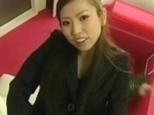 Japanese Lady In Boots Thong on Copulates A Dude