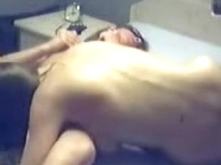 Two lesbians licking each other in this amateur video