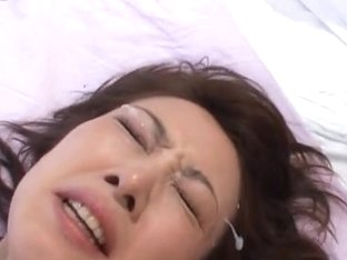 Mirei Horny Japanese doll gets a sex party