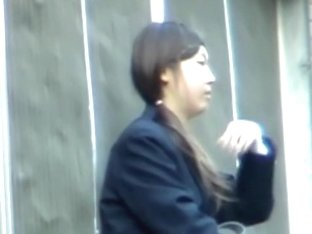 Awesome butts caught on voyeur's camera in the street