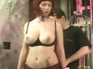 Large titties redhead receives her titties felt by her dominant