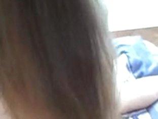 Slender, long haired milf